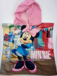 Пляжное полотенце пончо с Минни и сумочки