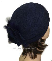 Зимняя шапка Вилена, разные цвета