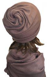 Зимний комплект шапка, шарф Вихрь, разные цвета. Распродажа