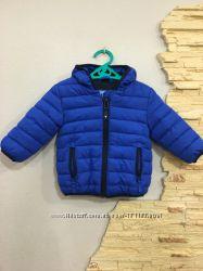 Куртка, тёплая жилетка сыночку 6-12 мес на весну