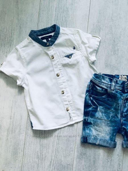 Рубашки Некст с коротким рукавом 1-2 года