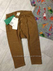 Летние штаники H&M 12-18, большемерны