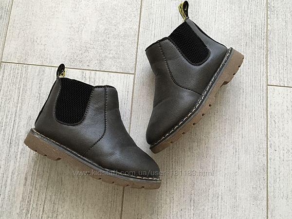 Утеплённые ботинки Челси 26-27 размер на меху