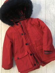 Зимняя  Куртка парка Некст 1, 5-2 года