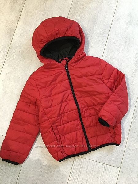 Деми куртки весенние фирменная 2-3 3-4 года