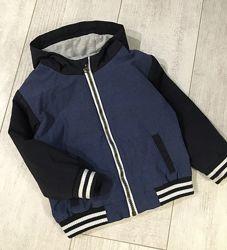 Весенняя Куртка-бомбер 1-2 года