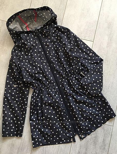 Куртка дождевик парка 7-8 лет