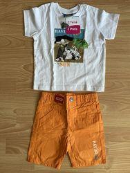 костюм, футболка і шорти, Topolino, р. 86-92