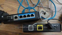 Модем-роутер D-Link DSL-2500U, DSL-30CF, DIR-100