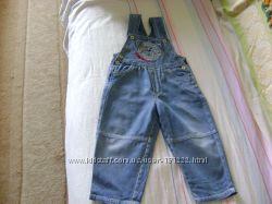 джинсовый супер комбинезон