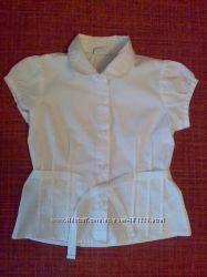 Блузки школьные для девочки рост 110-116см