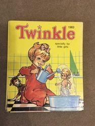 Книга для чтения детьми на английском языке Twinkle 1983г. и.