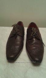 Туфли подростковые кожаные р. 35 стелька 24см