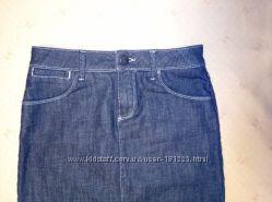 Юбка-карандаш джинсовая фирмы Zara woman р. 38 6