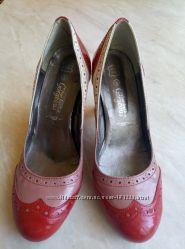 Туфли кожаные фирмы new look р. 3 36 стелька 24см в отличном состоянии