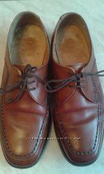 Туфли мужские кожаные фирмы Style Fontwell р. 7G стелька 26см