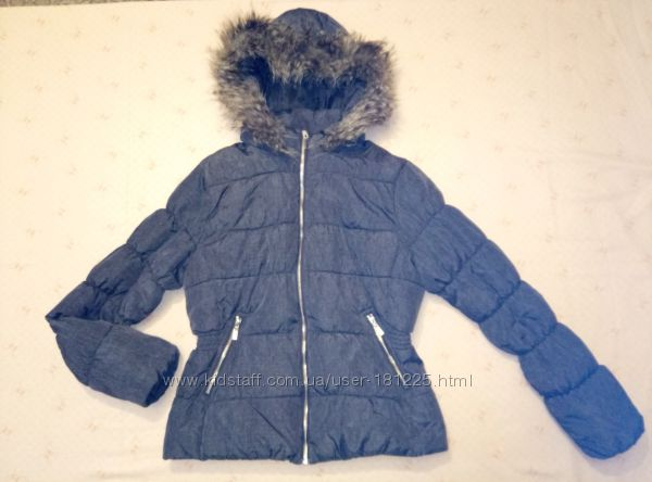 Курточка женская демисезонная фирмы H&M р. 44 наш 50 рост 175см
