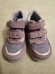 Ботиночки из натуральной замши фирмы Baren-Shule для девочки р. 23 стелька