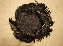 Парик сценический с черными волосами фирмы Smiffys. com