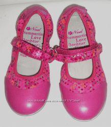 Новые туфли NOEL Франция, нат кожа, 16, 7см и  17, 2см стелька