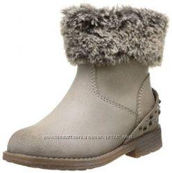 Новые ботинки GARVALIN, 28 размер, кожа, утеплен