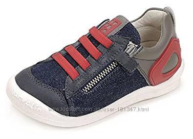 Новые спортивные туфли GARVALIN, 31 размер, кожа и текстиль