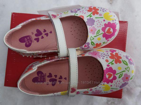 Новые туфли Agatha Ruiz, 17  см стелька, кожа