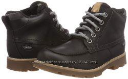 Новые ботинки Clarks, 32 и 36 размер, кожа, мембрана Gor-tex
