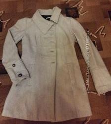 Стильное серое пальто Promod. Франция