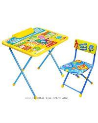 Комплект стол и стул с любимыми героями