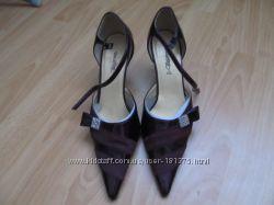 Туфли лакированые бардо 26, 5 см