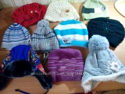 Шапки, панамки, шарфы от моих детей состояние отличное и очень хорошее
