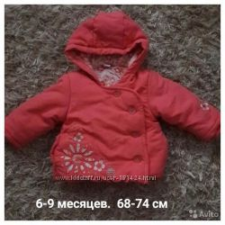 Теплая куртка фирмы TU 68-74