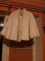 Прокат меховой накидки на свадьбу или снегурочки