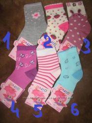 Демисезонные носочки для мальчиков и девочек. В наличии