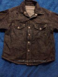Джинсовая рубашка Marks&Spencer 4г 104 рост