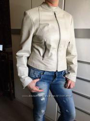 Кожаная куртка Next 12р