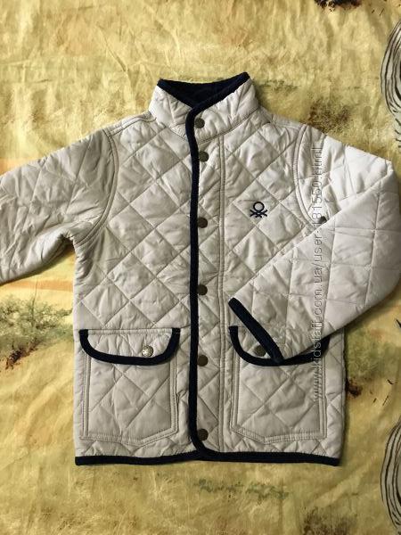 Куртка Benetton 6-7л