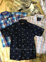 Рубашки с коротким рукавом Next, Rebel 7-8л