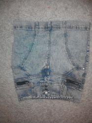Юбка джинсовая р. 140-146
