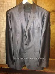 Шикарный пиджак р. 54 на высокого, одет 1 раз, состояние идеальное