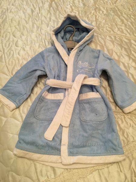 Продам голубой халатик Чикко