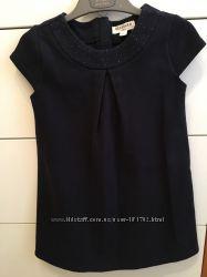 Продам синее платье с плотного коттона Reserved