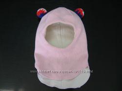 Зимний шлем на девочку