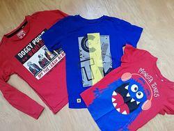 Реглан и футболки 116р.