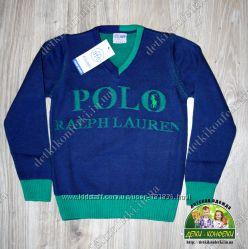 Пуловер Polo, D&G, ARMANI, LACOSTE, тонкая вязка для мальчика в наличии