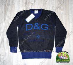 Пуловер Polo, D&G, ARMANI, LACOSTE, вязанный для мальчика в наличии