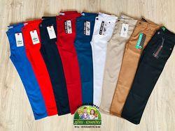 Модные цветные зауженные брюки в наличии