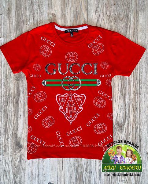 Брендовые Футболки Gucci, Armani, Adidas