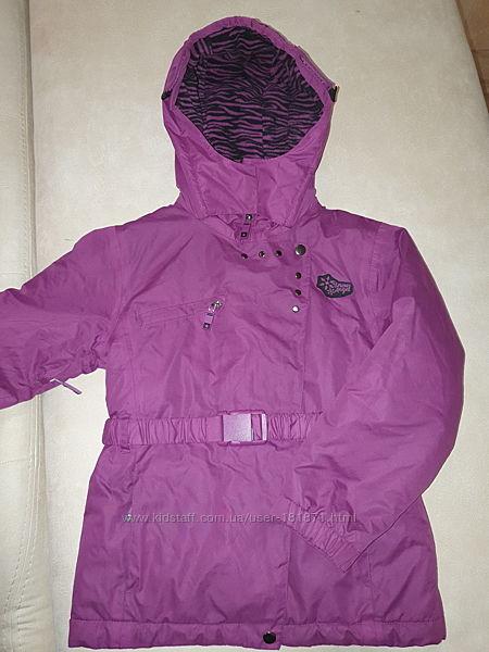 Термокуртка MATALAN, 8-9 лет, идеальное состояние